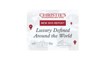 CHRISTIE'S: Global luxury real estate index 2014