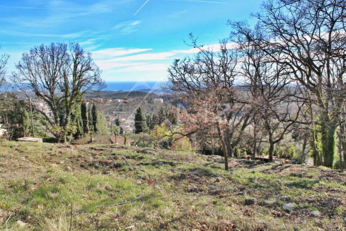 Vence - Plot of land with panoramic sea view - photo4