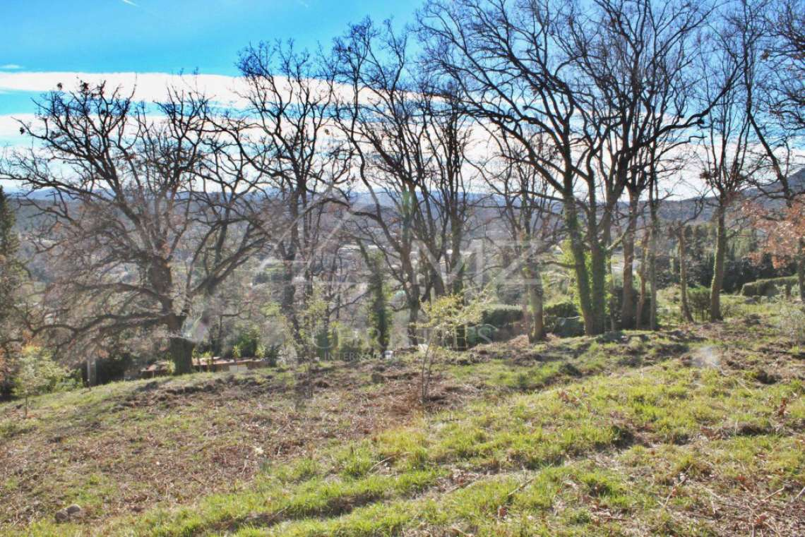 Vence - Plot of land with panoramic sea view - photo5
