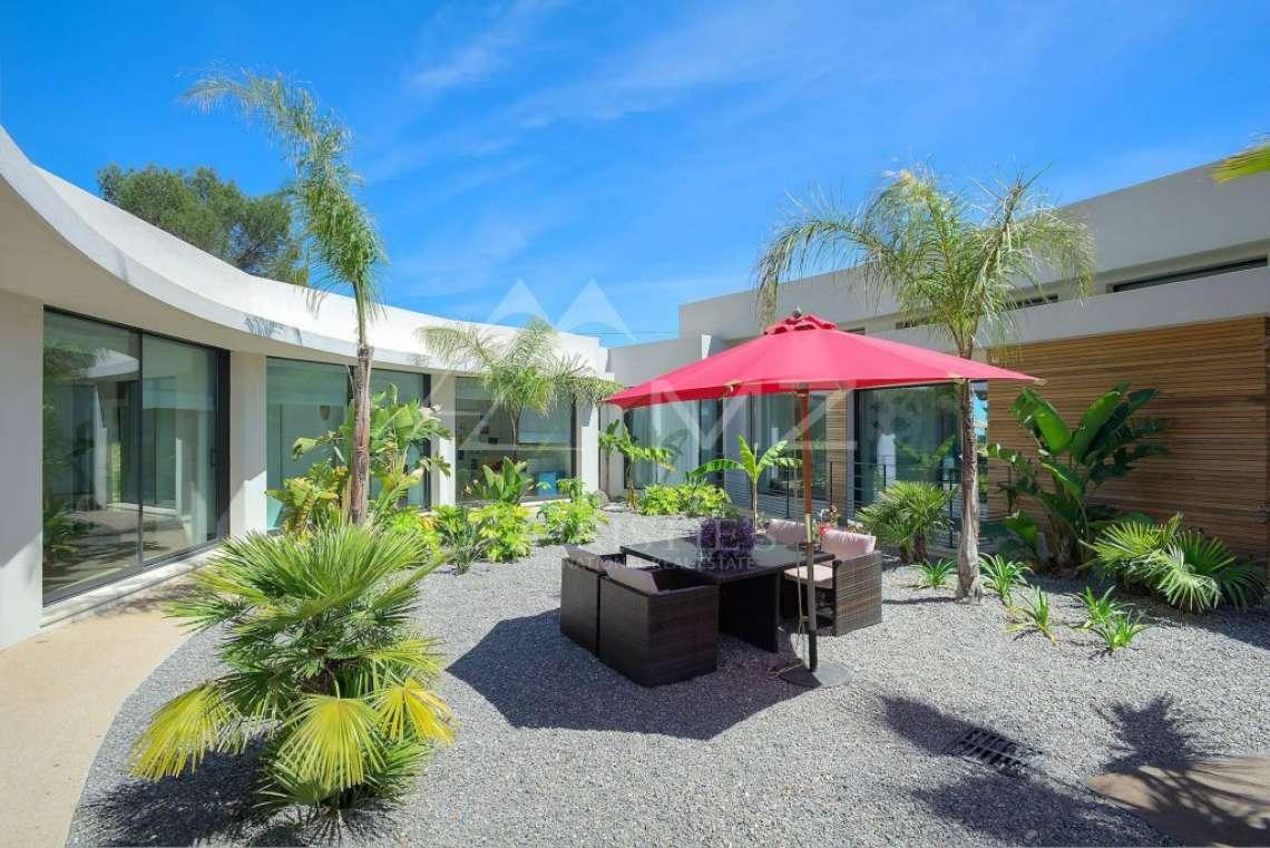 Antibes - Villa californienne avec vue mer - photo6