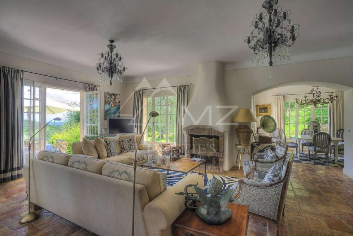 Cannes Backcountry - Charming villa with sea view - photo5