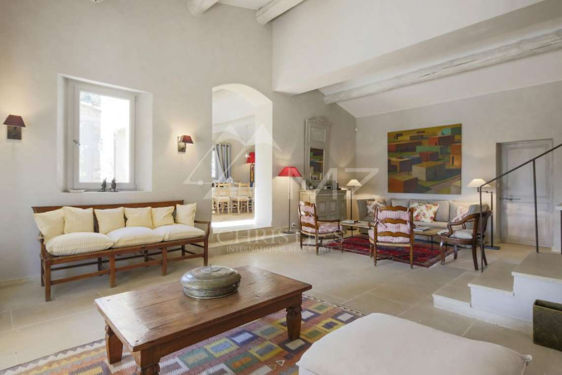Gordes - Beautiful stone house with tennis court and heated pool - photo8