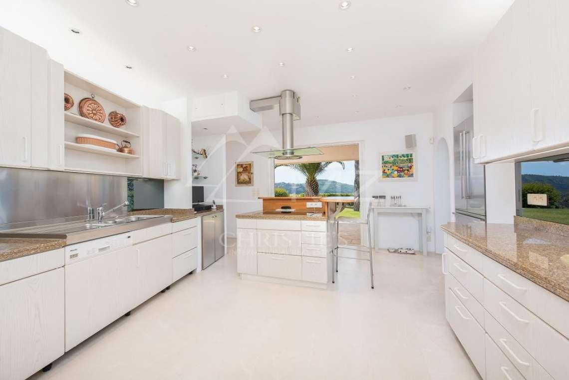 Arrière-pays cannois - Villa d'architecte avec vue panoramique - photo14