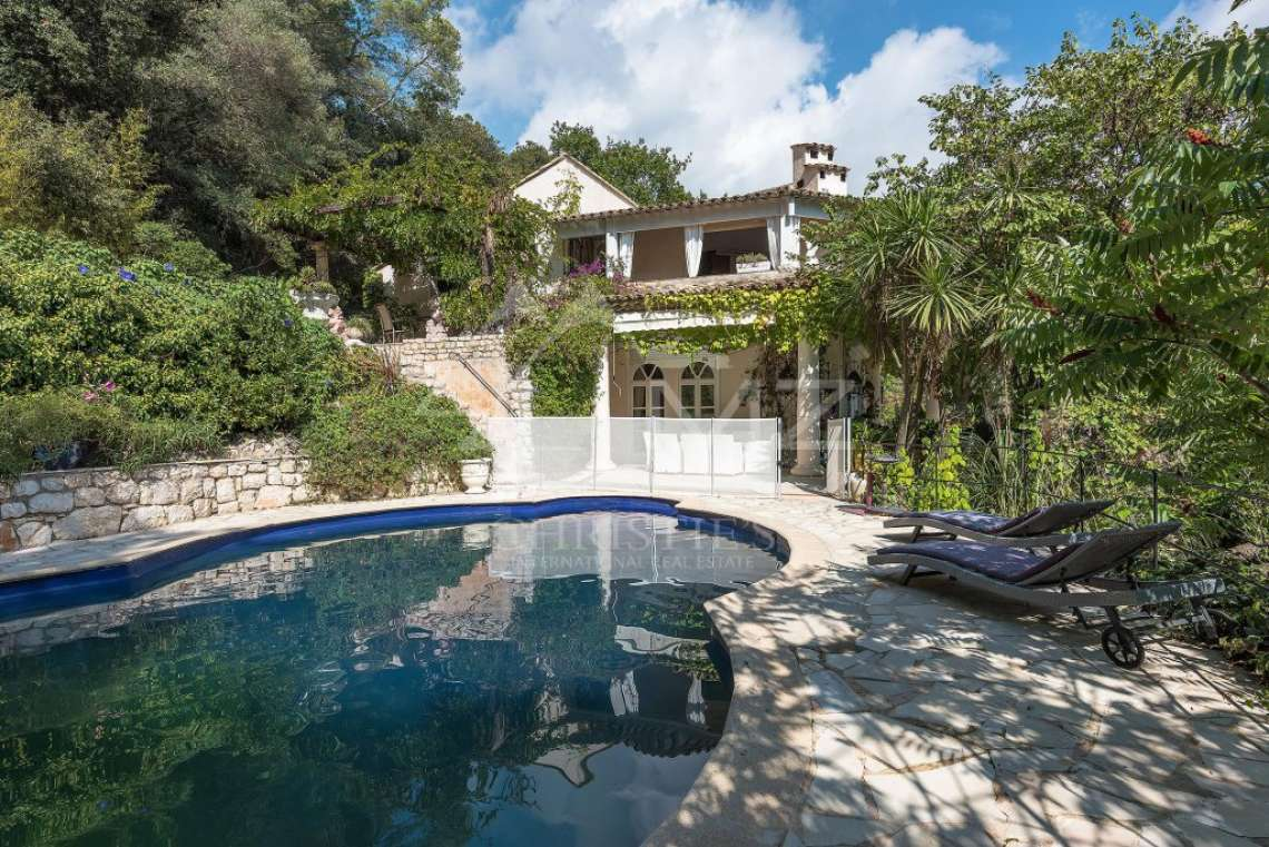 Proche Saint-Paul de Vence  - Ravissante villa de style colonial - photo7