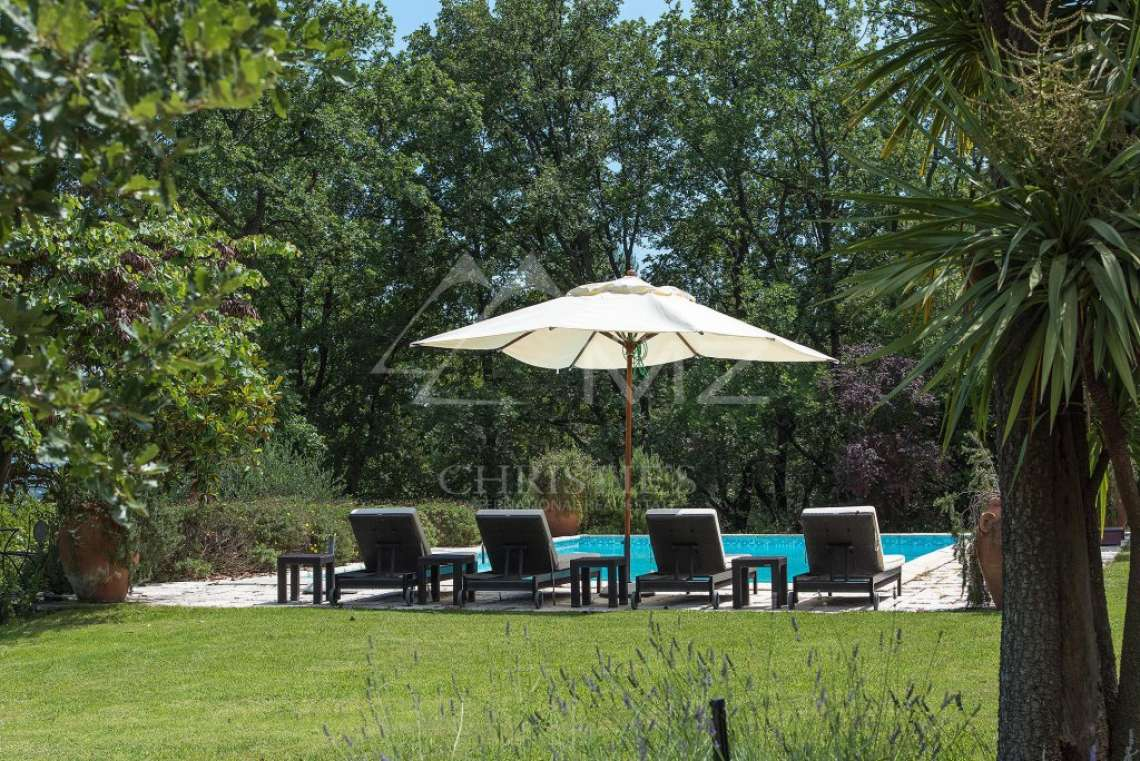 Cannes backcountry - Superbe property in calm environment with pool - photo11