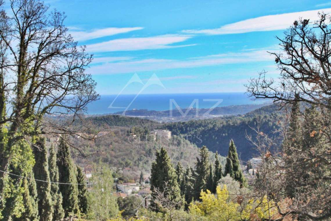 Vence - Plot of land with panoramic sea view - photo1