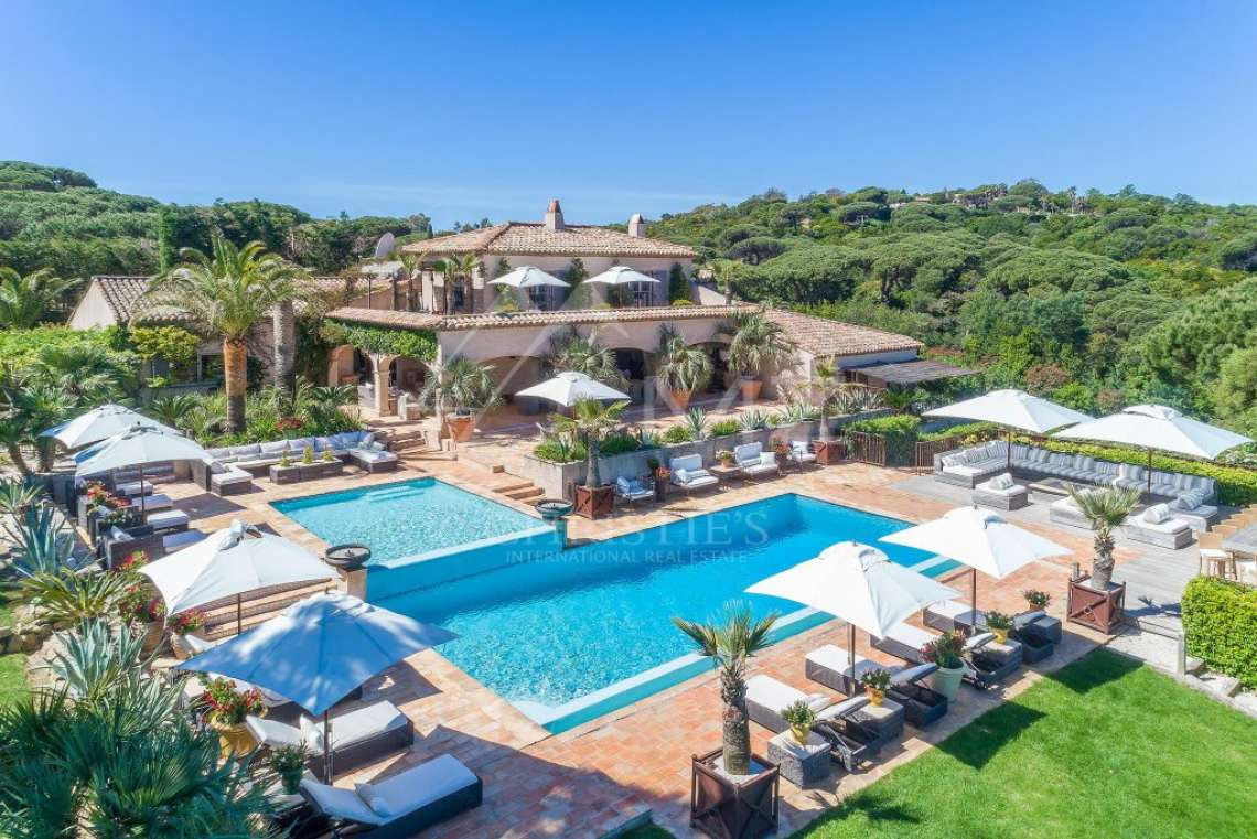 Close To Saint-Tropez - Magnificent Property with fantastic view onto Pampelonne - photo17