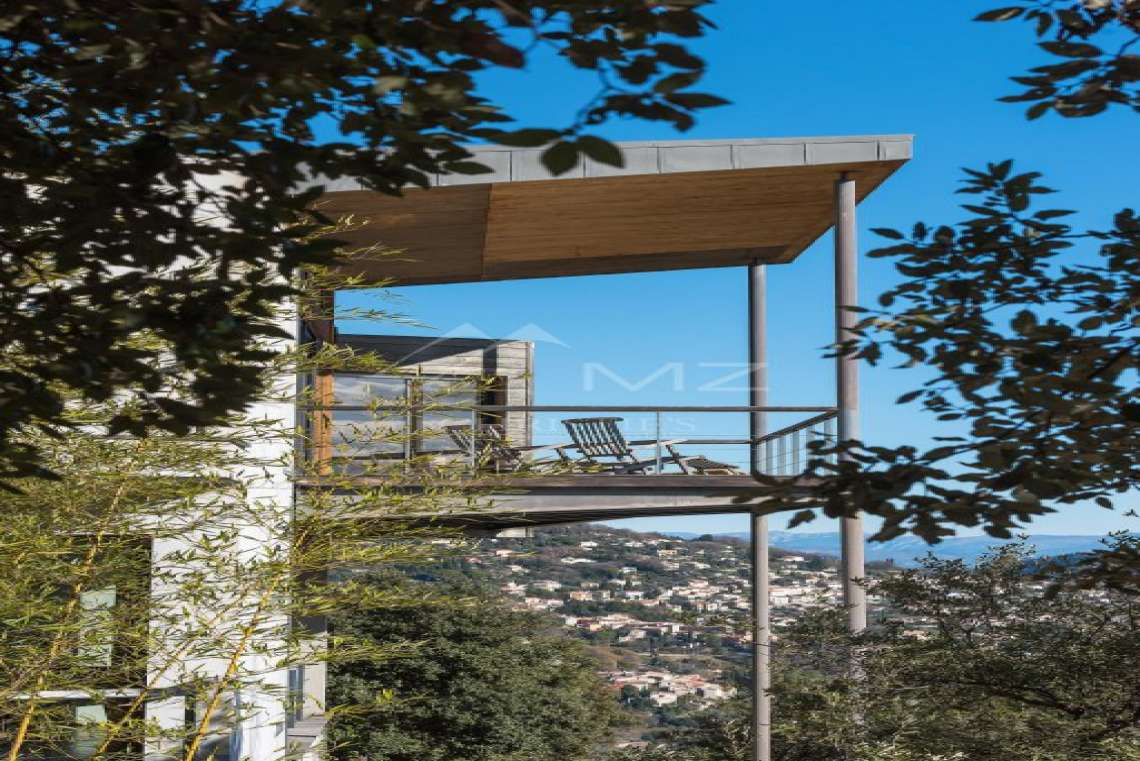 Arrière-pays cannois - Villa contemporaine avec vue - photo24