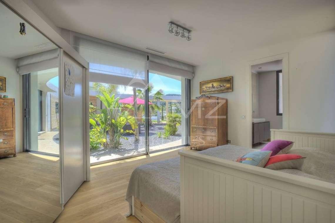 Antibes - Villa californienne avec vue mer - photo12