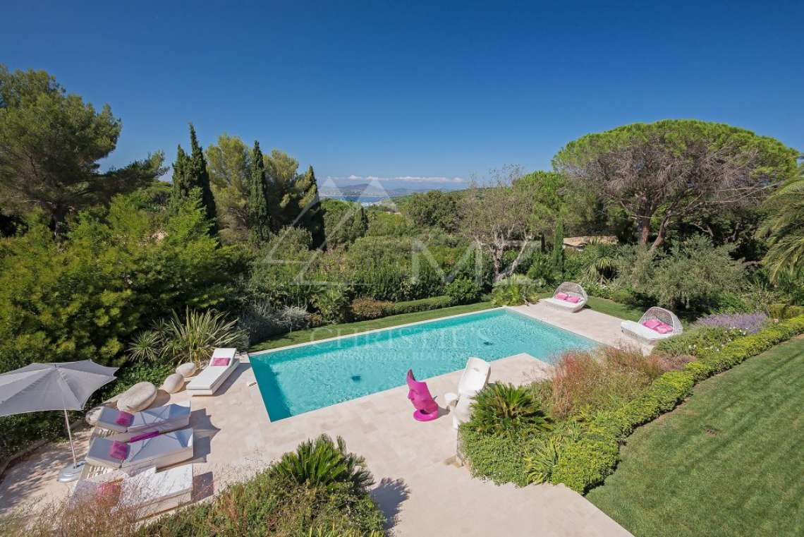 Saint-Tropez - Nice contemporary villa - photo1