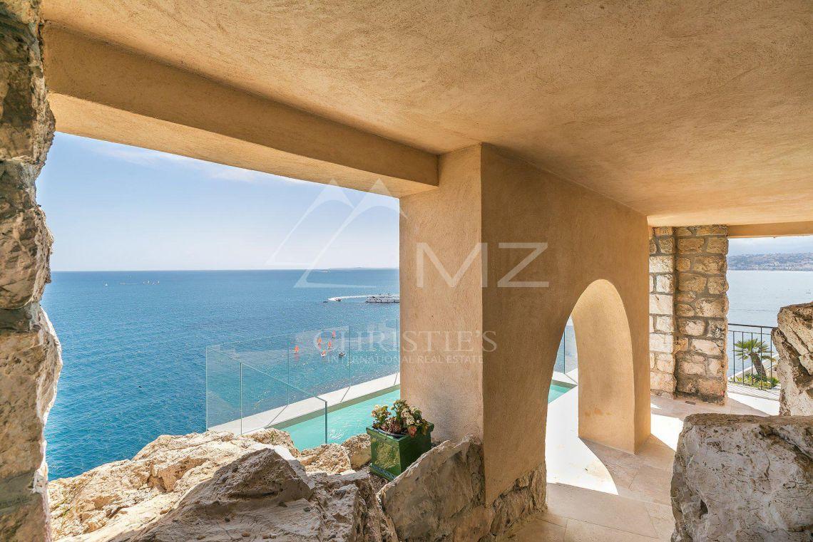 Nice - Cap de Nice - Unique Art- Deco propriété pieds dans l'eau - photo3