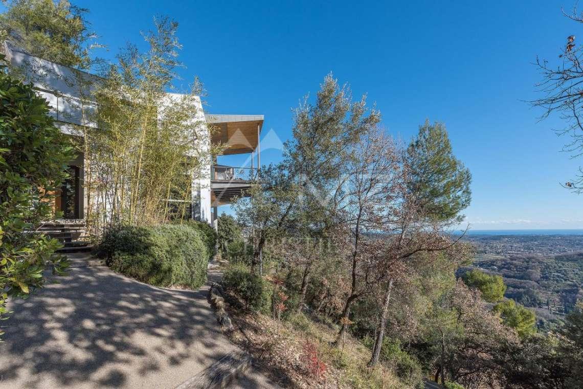 Arrière-pays cannois - Villa contemporaine avec vue - photo4