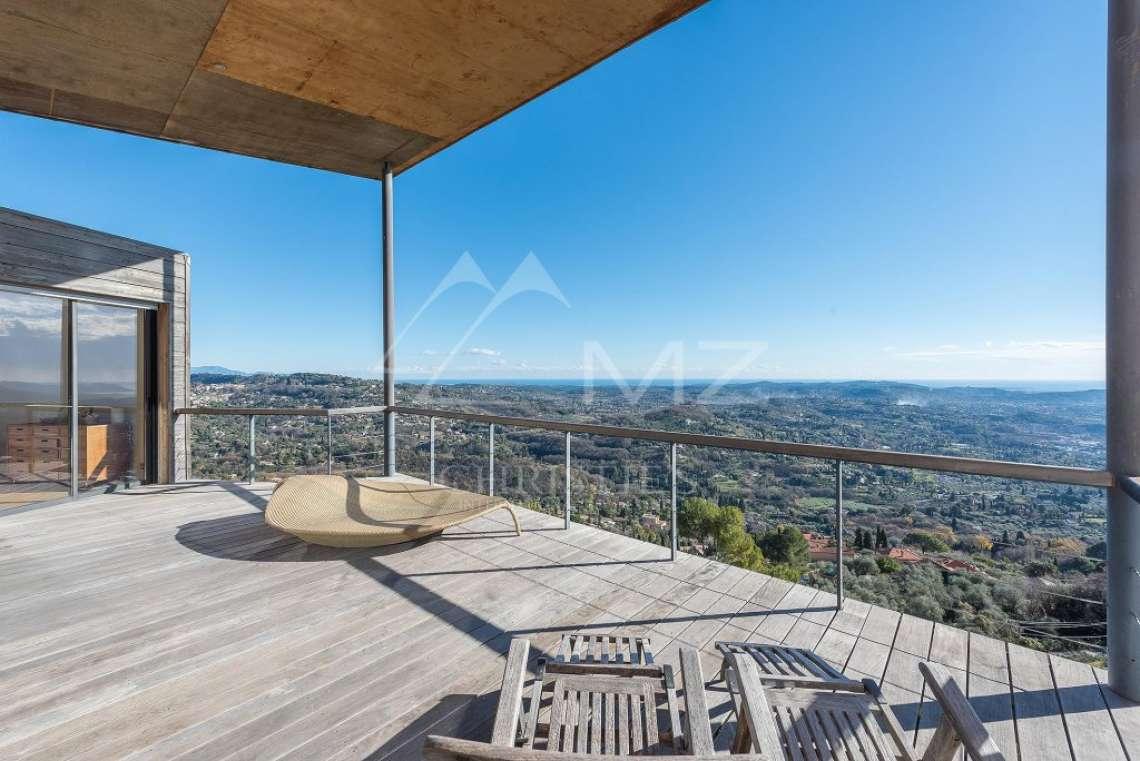Arrière-pays cannois - Villa contemporaine avec vue - photo12