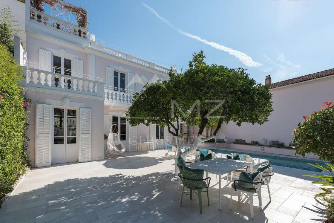 Cap d'Antibes - Remarquable villa avec vue mer - photo1