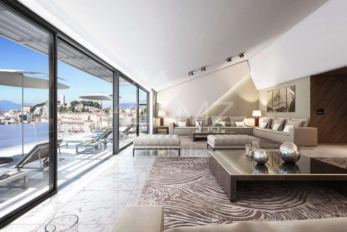 Cannes - Croisette - Penthouse - photo4