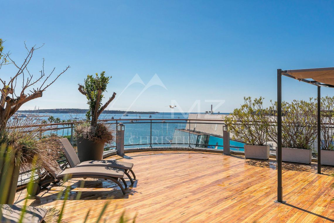 Cannes - Croisette - Exceptional penthouse - photo5