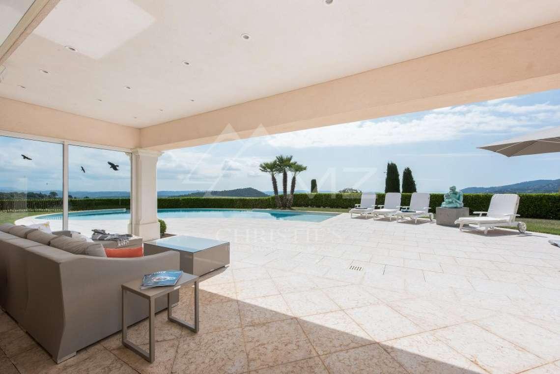 Arrière-pays cannois - Villa d'architecte avec vue panoramique - photo9