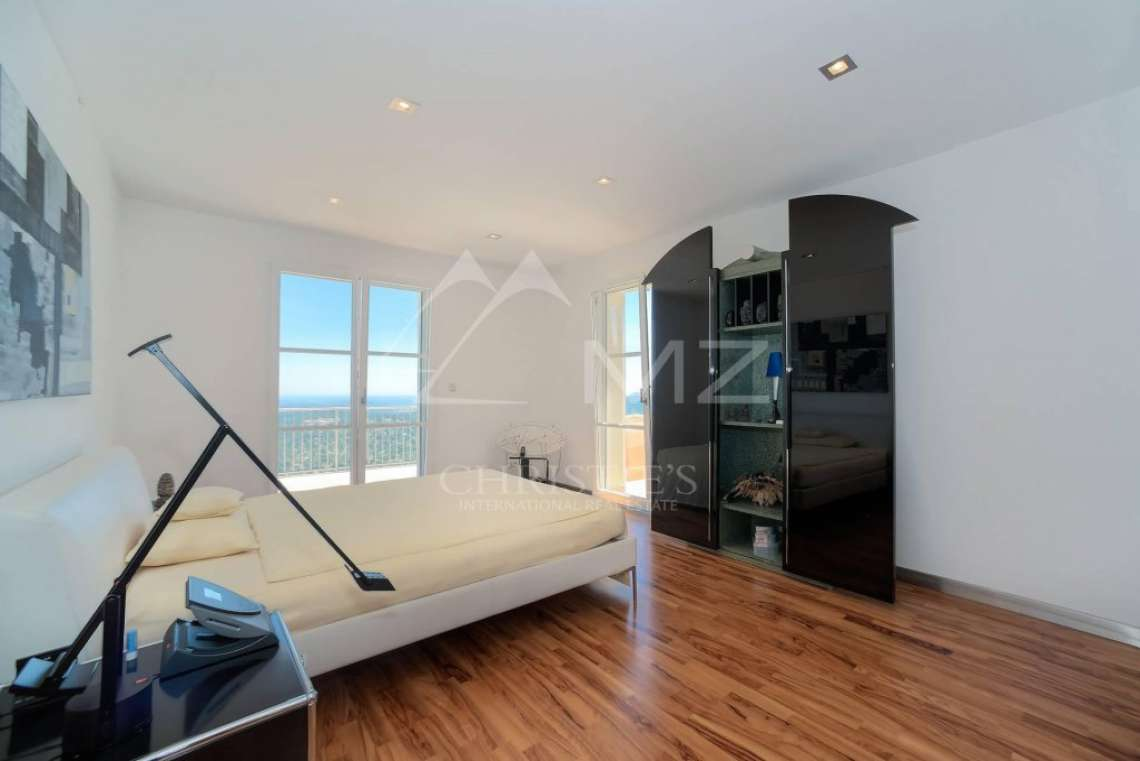 Cannes backcountry - Contemporary designer villa with panoramic sea view - photo20