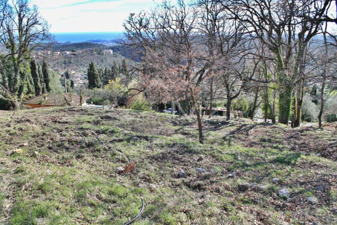 Vence - Plot of land with panoramic sea view - photo3