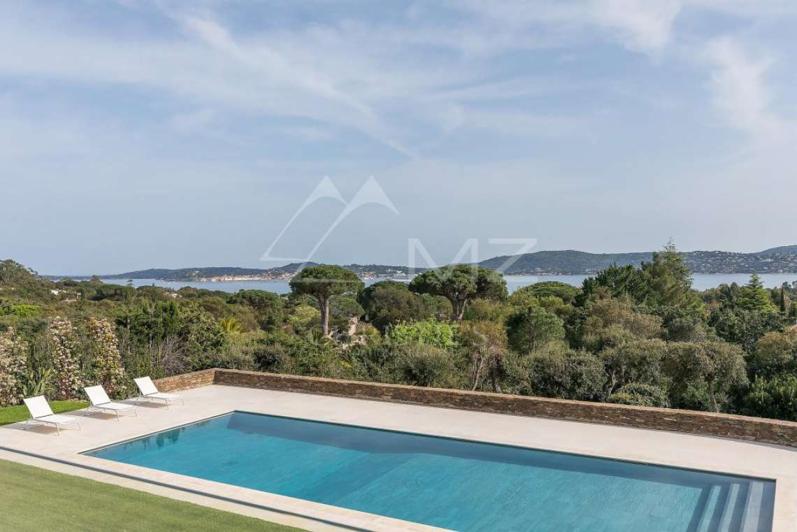 Vue mer panoramique - Proche Saint-Tropez - photo1