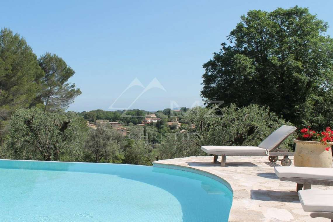 Cannes Backcountry - Stone masonry Mas with view - photo3