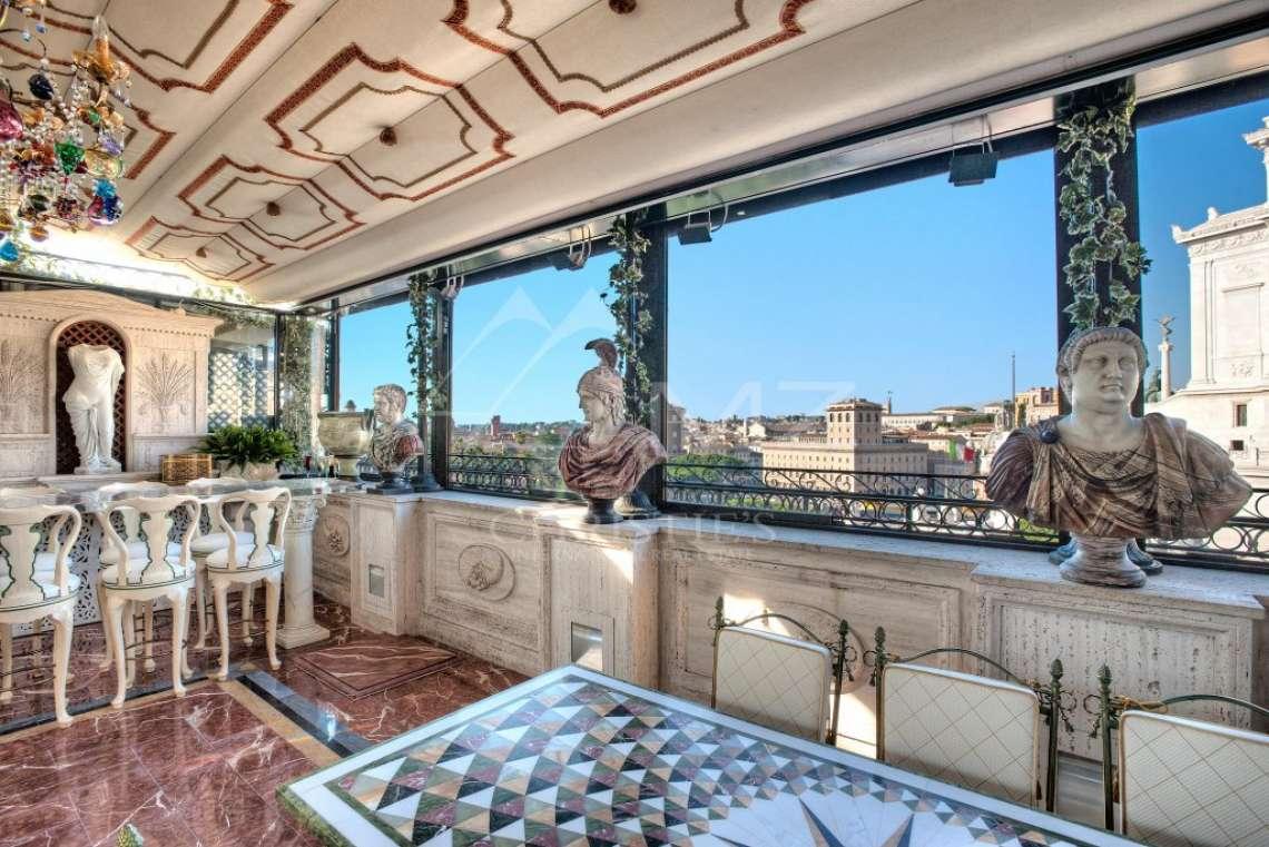 Италия - Рим - Роскошный пентхаус в самом сердце Рима - photo4