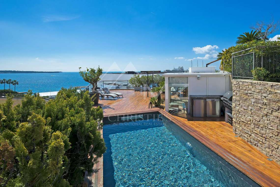 Cannes - Croisette - Exceptional penthouse - photo1