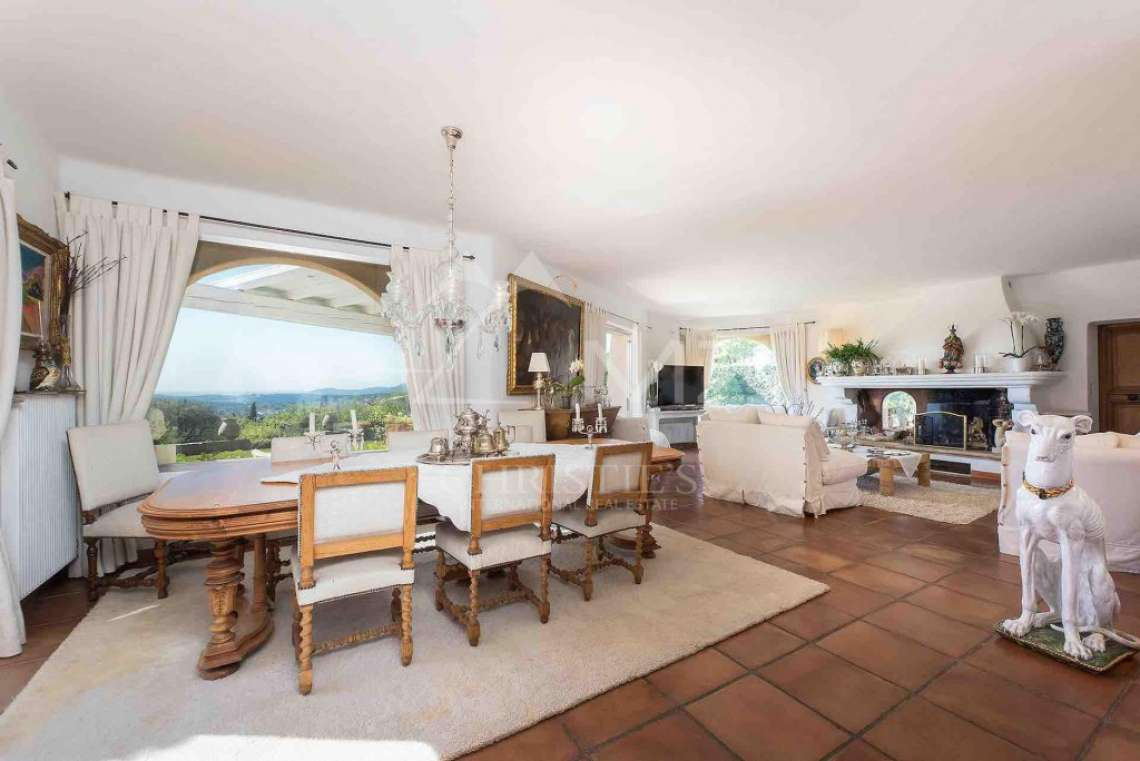 Cannes back country - Provençal villa with sea view - photo4