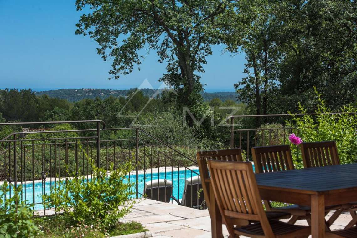 Cannes backcountry - Superbe property in calm environment with pool - photo13