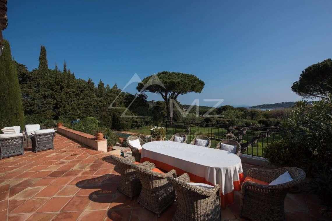 Saint-Tropez - Provençal property with sea view - photo9