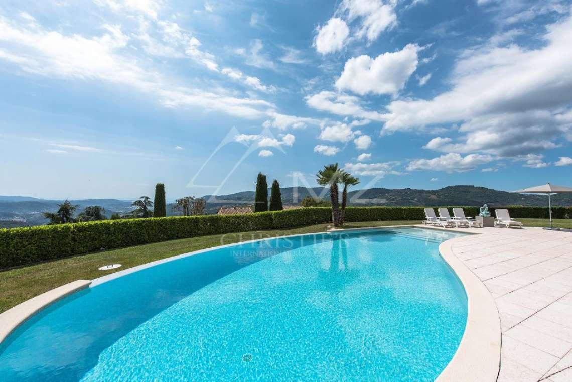 Arrière-pays cannois - Villa d'architecte avec vue panoramique - photo2