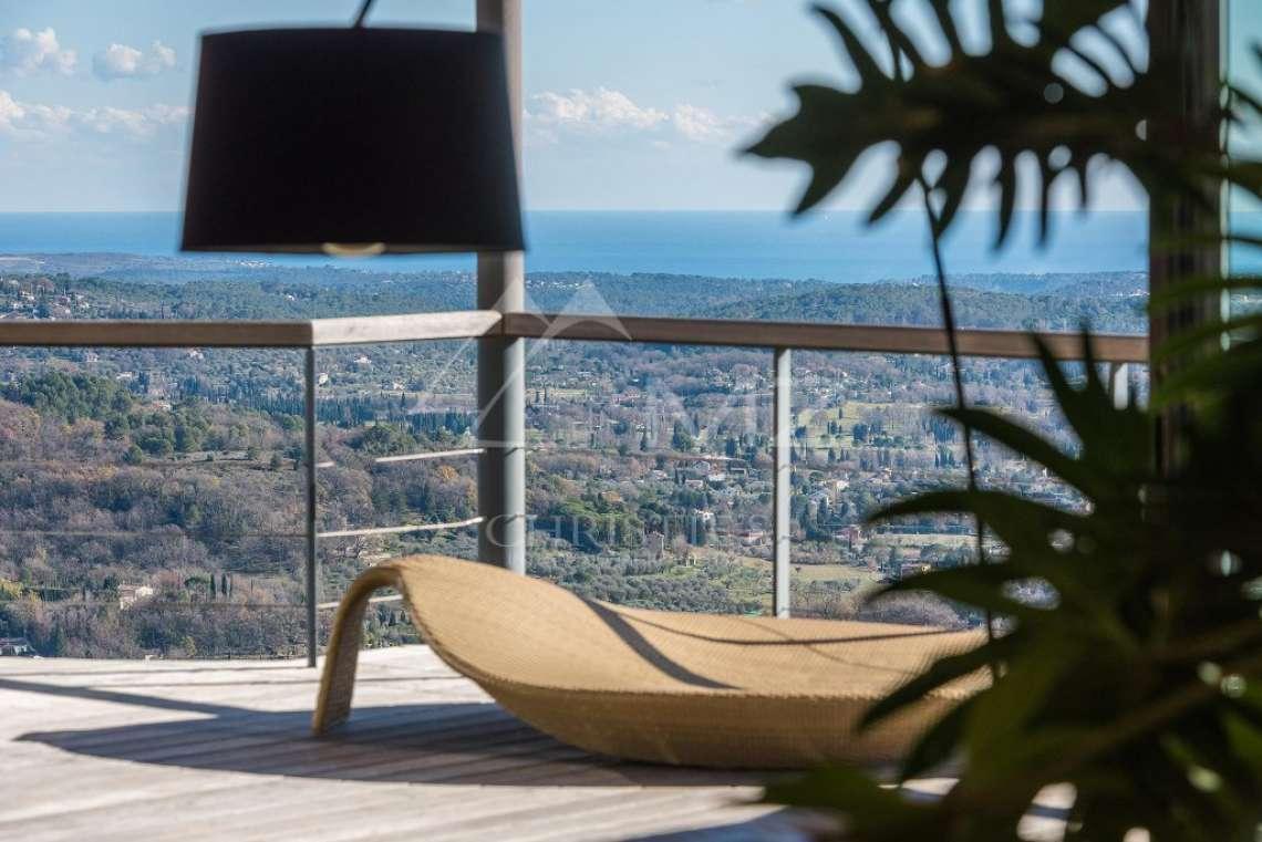 Arrière-pays cannois - Villa contemporaine avec vue - photo11