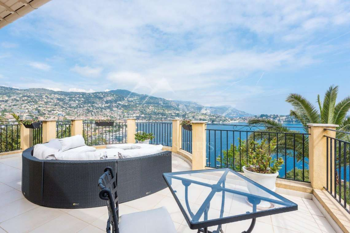 Villefranche-sur-Mer - Panoramic sea view - photo1