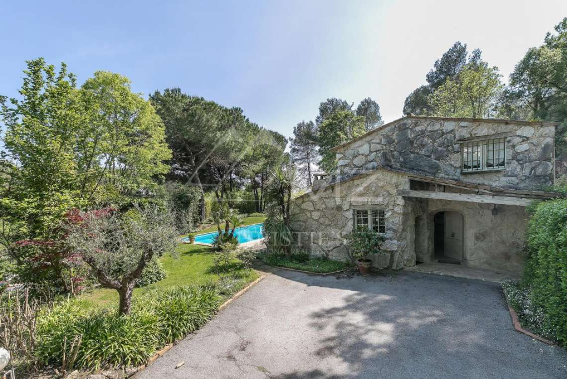 Proche Saint-Paul de Vence - Villa provençale de l'architecte Robert Dallas - photo11