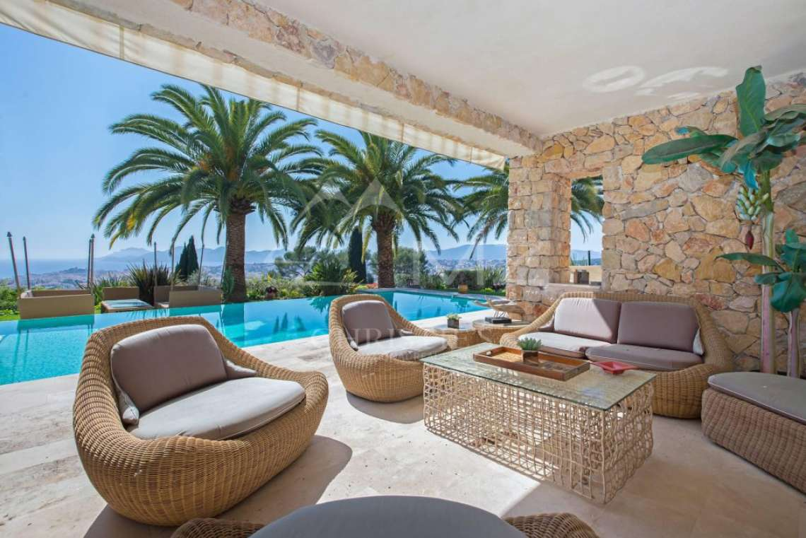 Proche Cannes - Vue mer panoramique - photo3
