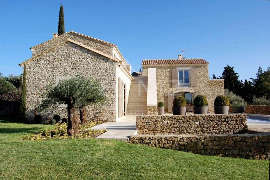 Gordes - Belle maison contemporaine avec vue sur le Luberon - photo2