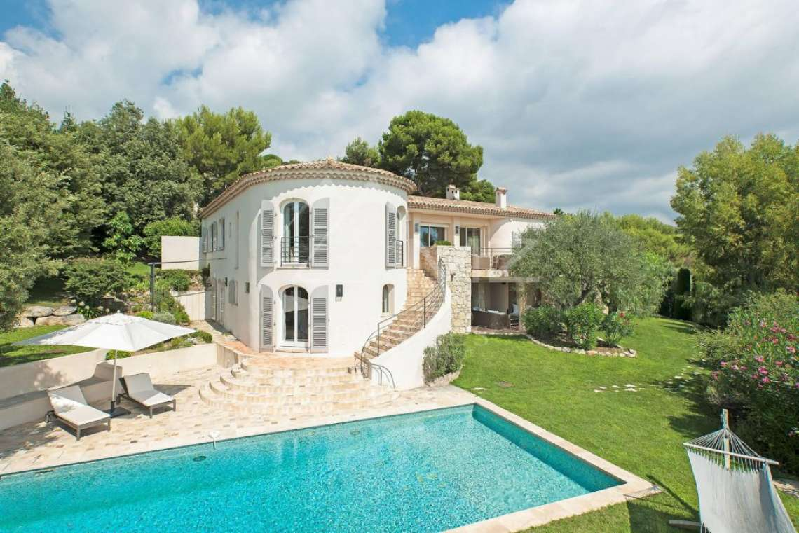 Saint Paul-de-Vence - Belle villa avec vue mer - photo1