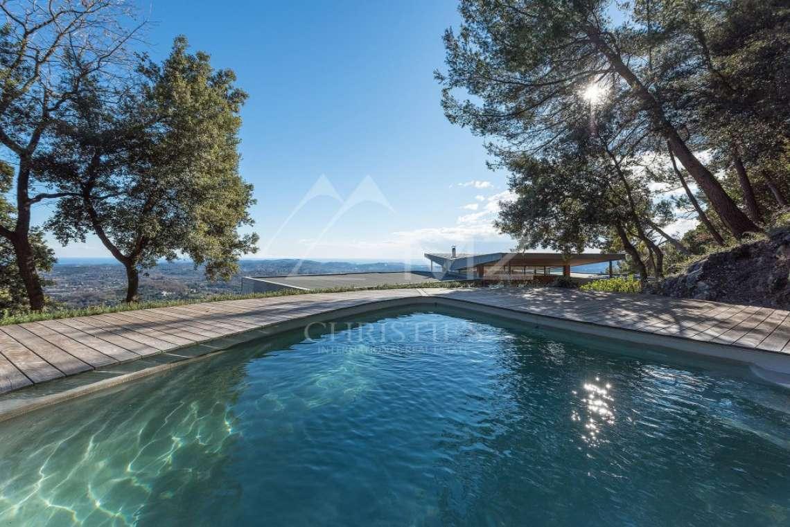 Arrière-pays cannois - Villa contemporaine avec vue - photo7