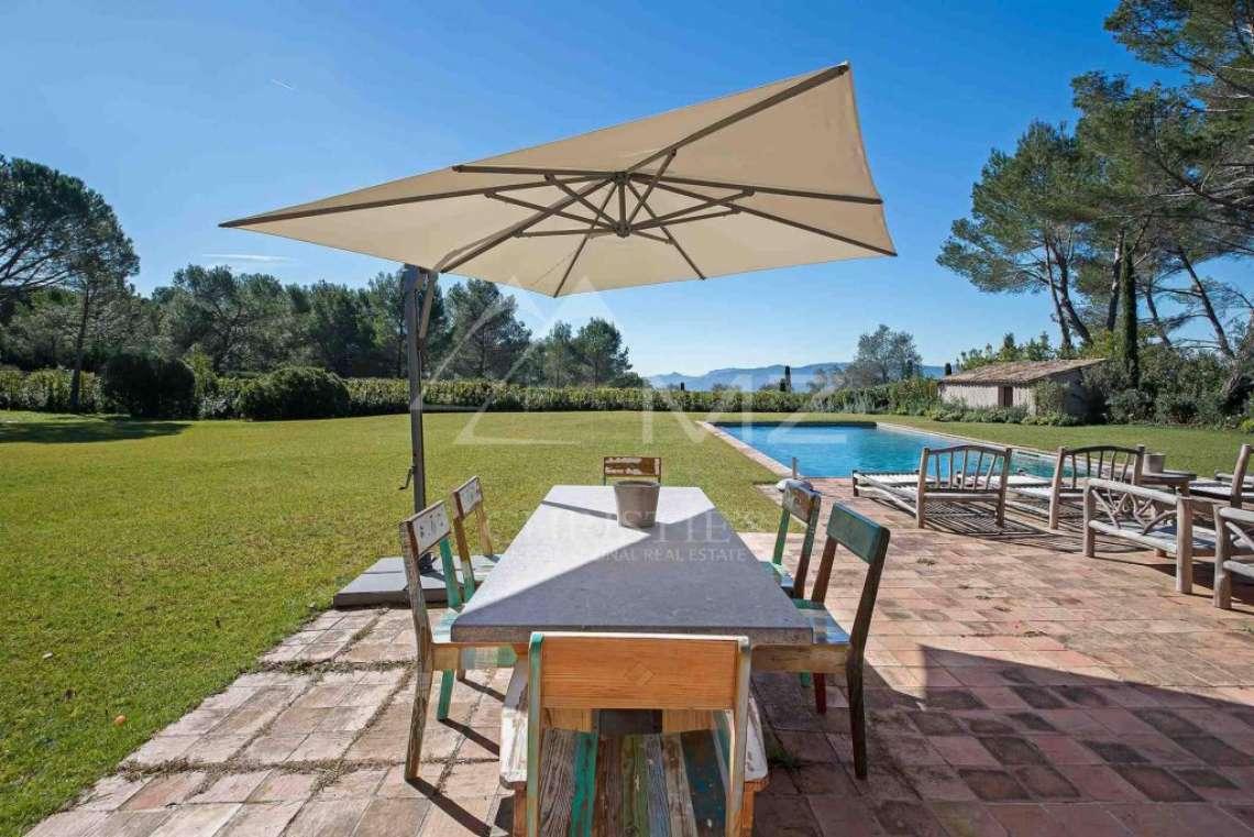 Close to Mougins - Castellaras - Superb villa in exceptional environment - photo4