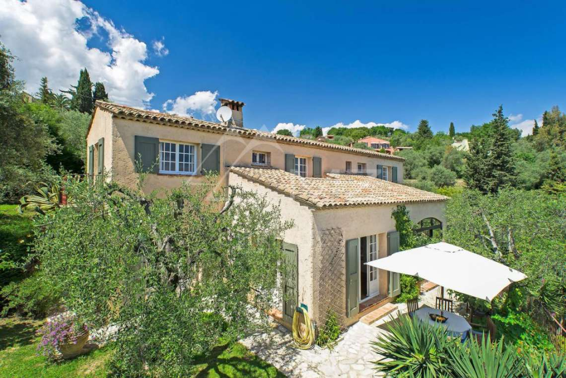 Cannes Backcountry - Charming villa with sea view - photo1