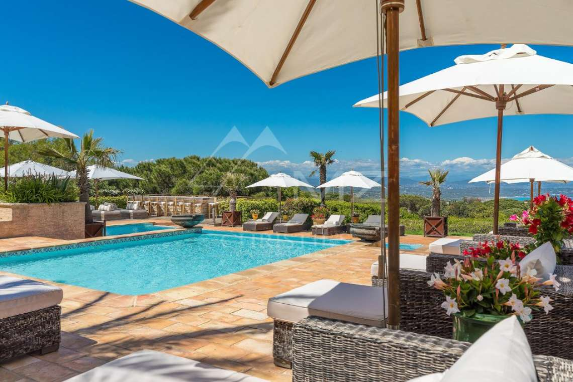 Close To Saint-Tropez - Magnificent Property with fantastic view onto Pampelonne - photo23