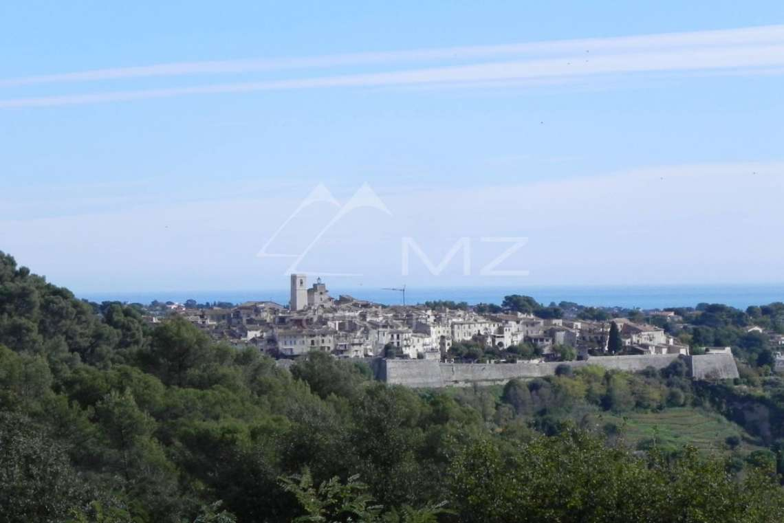 Saint-Paul de Vence - Magnifique vue mer et village - photo1