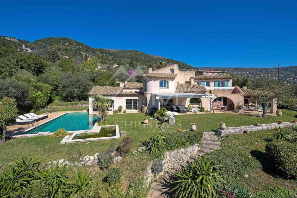 Cannes back country - Provençal villa with sea view - photo1