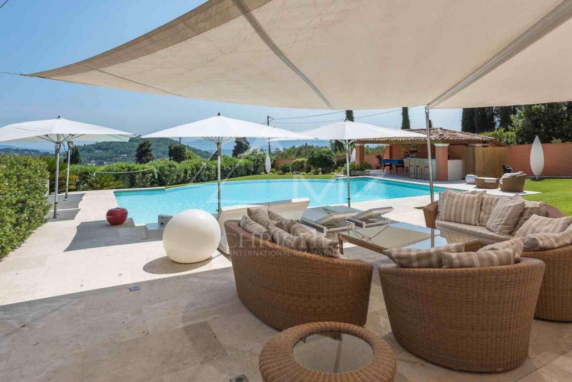 Cannes back country -  Panoramic view - photo3