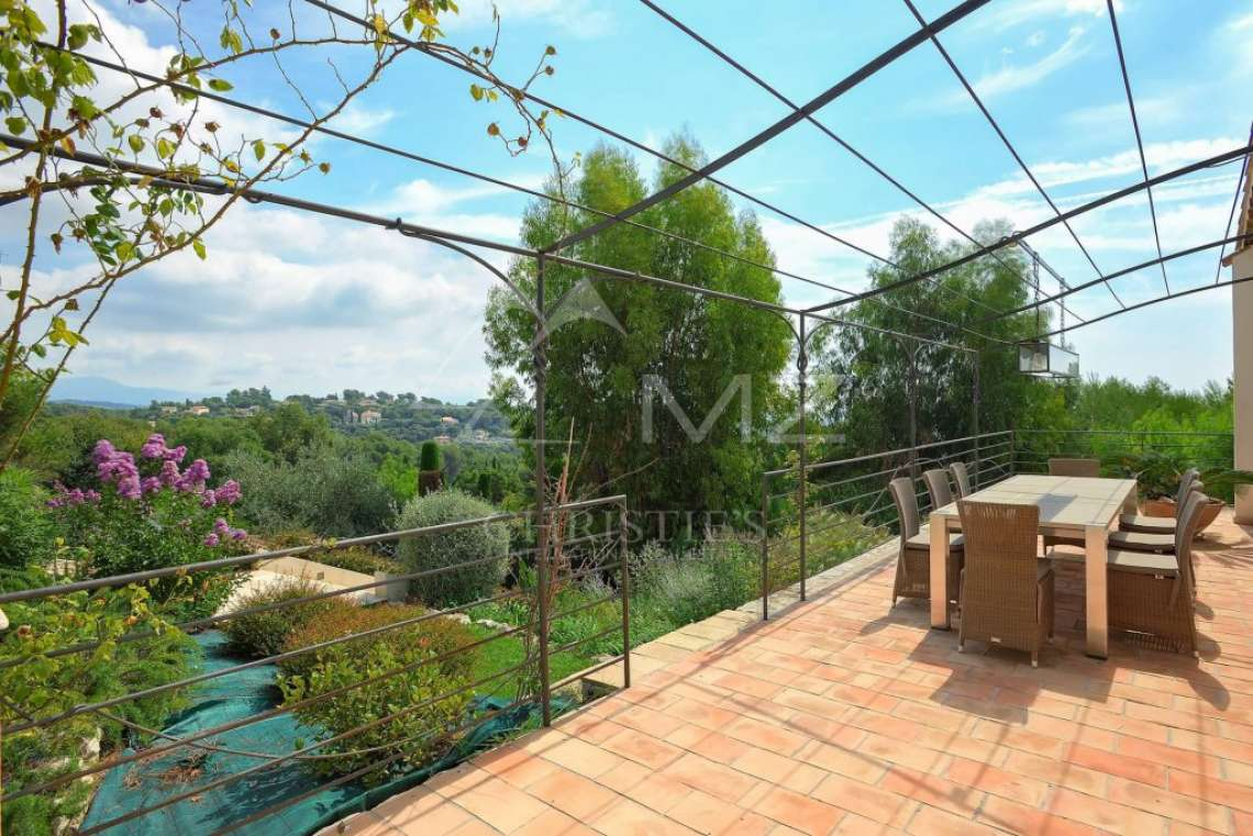 Saint Paul-de-Vence - Belle villa avec vue mer - photo8