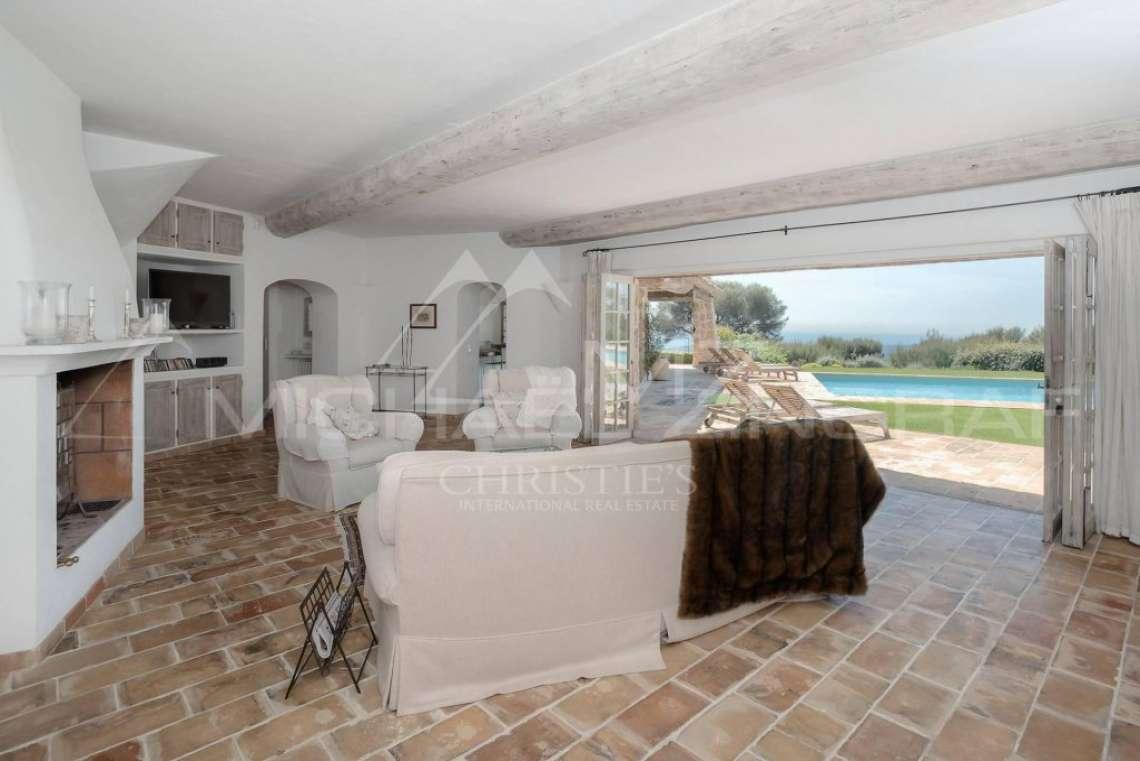 Saint-Paul de Vence - Villa avec vue mer panoramique dans domaine privé - photo13
