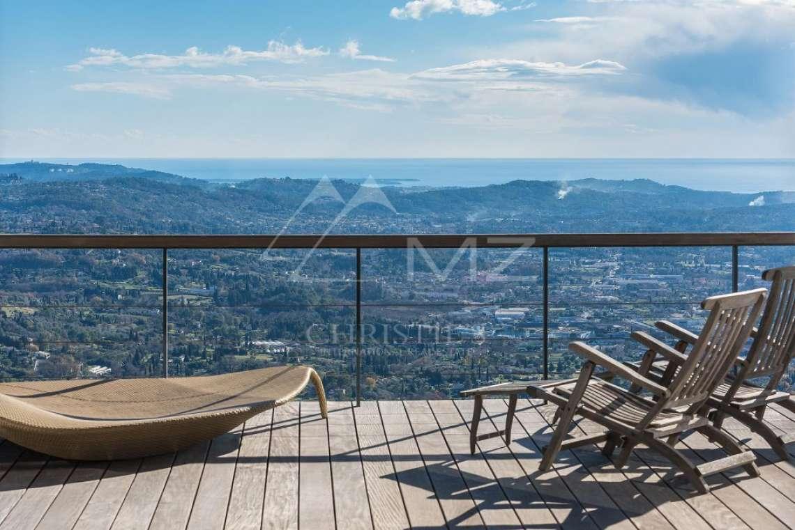 Arrière-pays cannois - Villa contemporaine avec vue - photo1