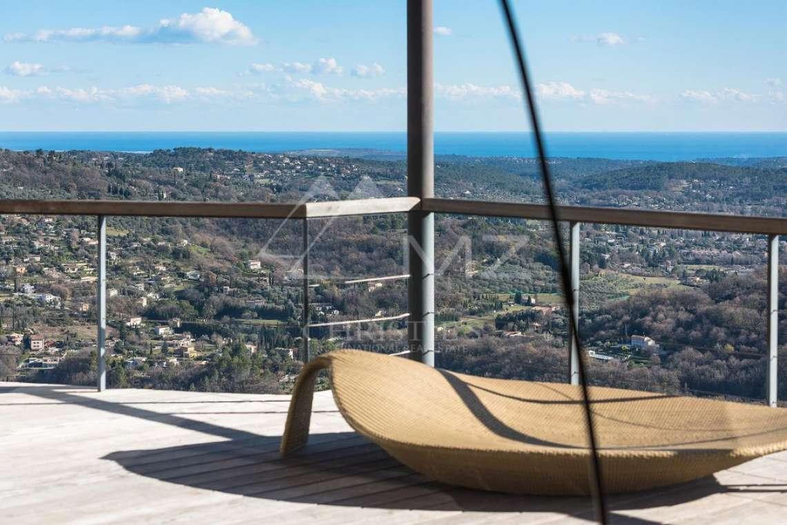 Arrière-pays cannois - Villa contemporaine avec vue - photo5