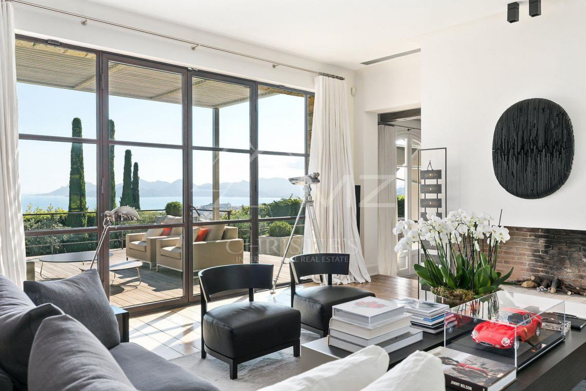 Cannes - Somptuous mansion with panoramic sea views - photo7