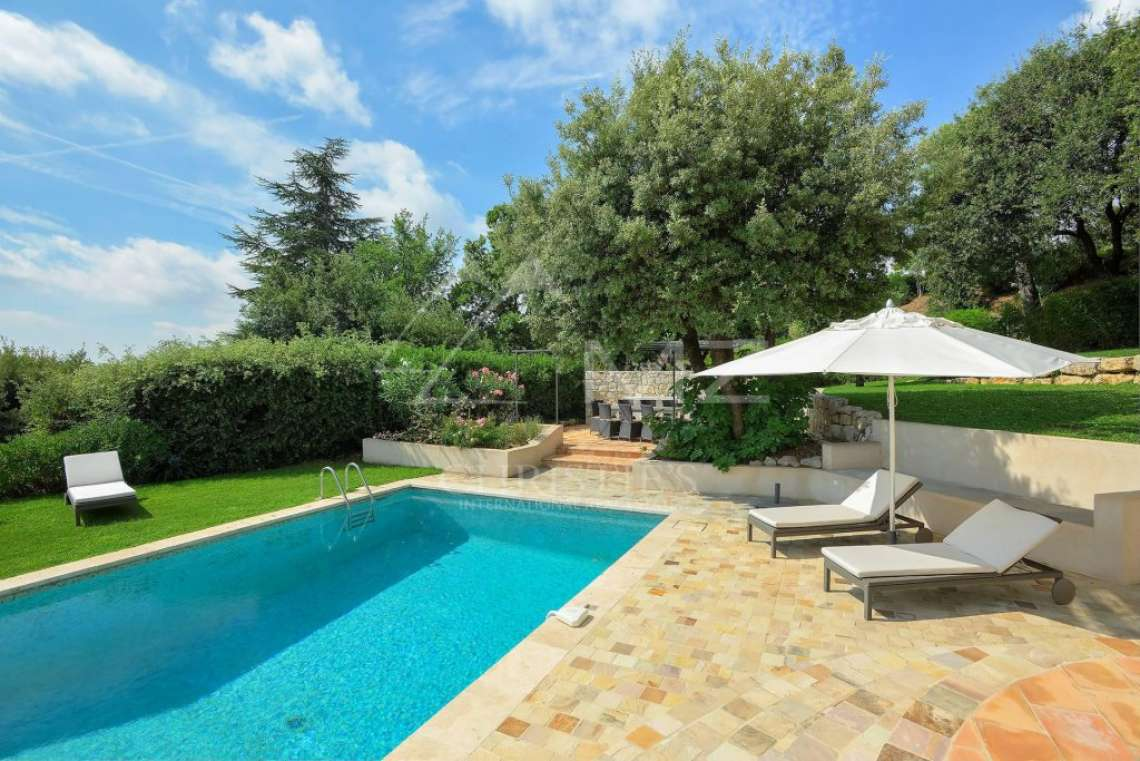 Saint Paul-de-Vence - Belle villa avec vue mer - photo2